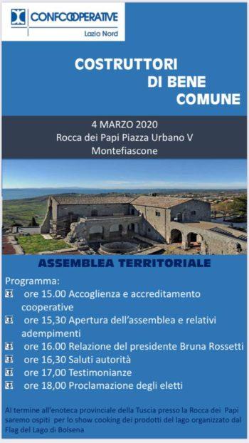 Assemblea Territoriale – 4 Marzo 2020